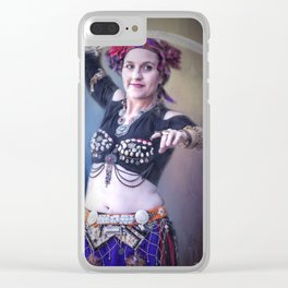 The Belly Dancer Clear iPhone Case