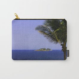 Plam tree and an island Carry-All Pouch