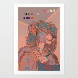 Rep Art Print