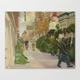102nd broadway Canvas Print