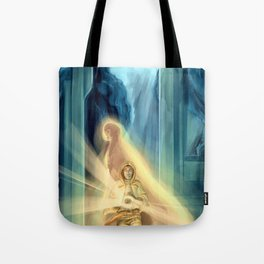 He Who Has Brought Us To The End Tote Bag