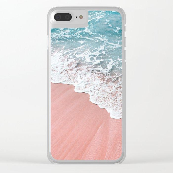Ocean Love Clear iPhone Case
