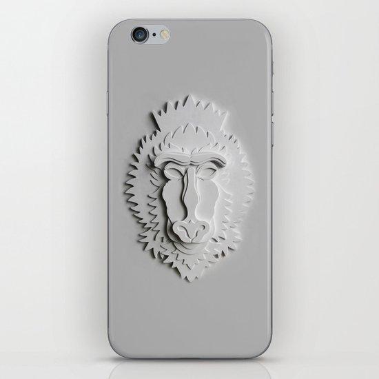 """Mandrill King"" iPhone & iPod Skin"