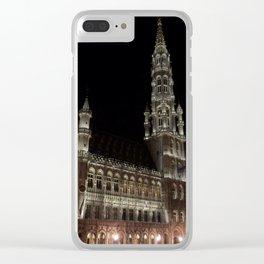 Grote Markt, Belgium Clear iPhone Case