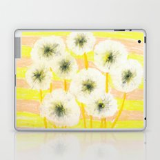 Ode to the dandelion Laptop & iPad Skin