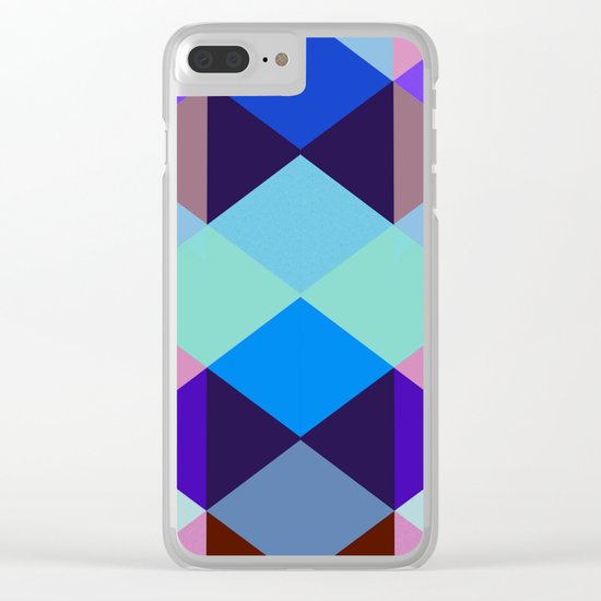 Abstract #375 Clear iPhone Case