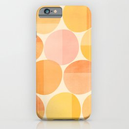 Mid Century Dots iPhone Case