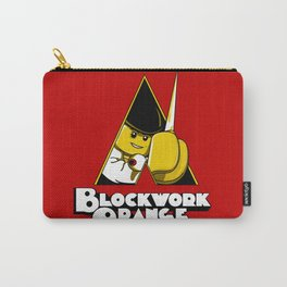 Blockwork Orange Carry-All Pouch