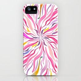 Pink Fairy Flower iPhone Case