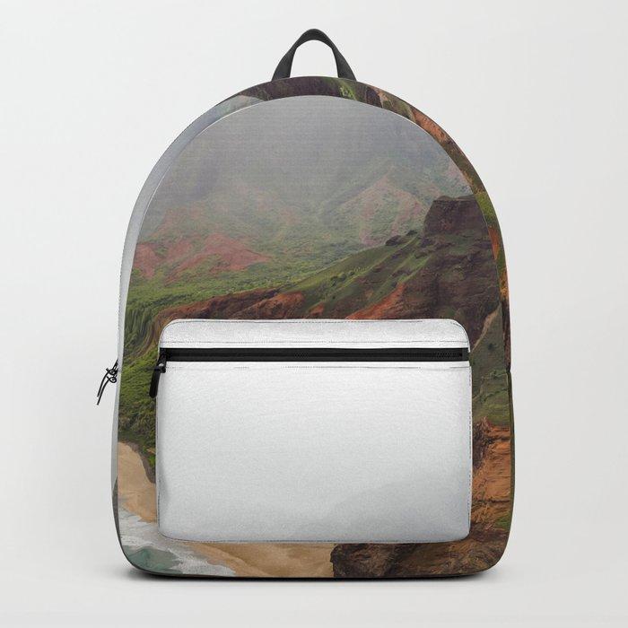 Wild Tropical Mountain Beach Backpack