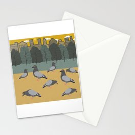 Pigeons Day Out Stationery Cards