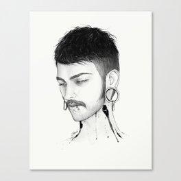 Toshiro Canvas Print