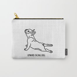 Yoga Dog - Frenchie Carry-All Pouch