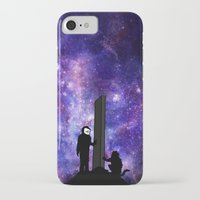 2001 a space odyssey iPhone & iPod Cases featuring 2001: A Space Odyssey  by Joshua S