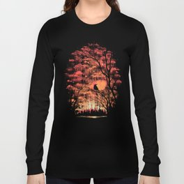 Burning In The Skies Long Sleeve T-shirt