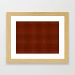 Dunbar Tartan Framed Art Print
