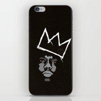 basquiat iPhone & iPod Skins featuring Biggie Basquiat by Ric_Hardwood