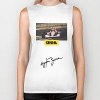 senna Biker Tanks featuring Senna by Rassva