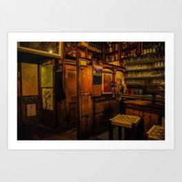 Old Irish Pub Art Print