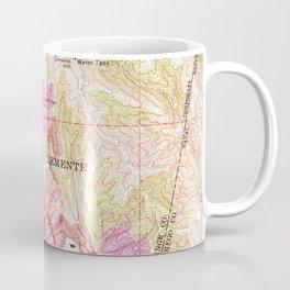 Vintage Map of San Clemente California (1968) Coffee Mug