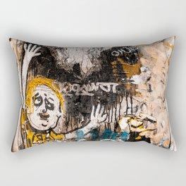 Urban Agony Rectangular Pillow