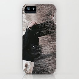 lean on me iPhone Case
