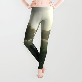 Misty Morning in the Waikato King Country Leggings