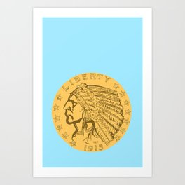 Coin Art Prints | Society6