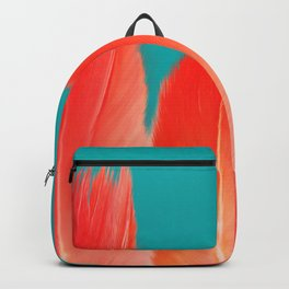 Flamingo Feathers, Colors of Nature Backpack