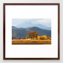 Rocky Mountain Autumn Splendor Framed Art Print