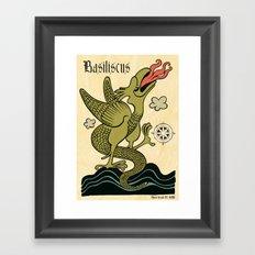 BASILISCUS Framed Art Print