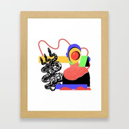 Happysad Framed Art Print