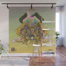 hallucinogen mushrooms froom mexico of course Wall Mural
