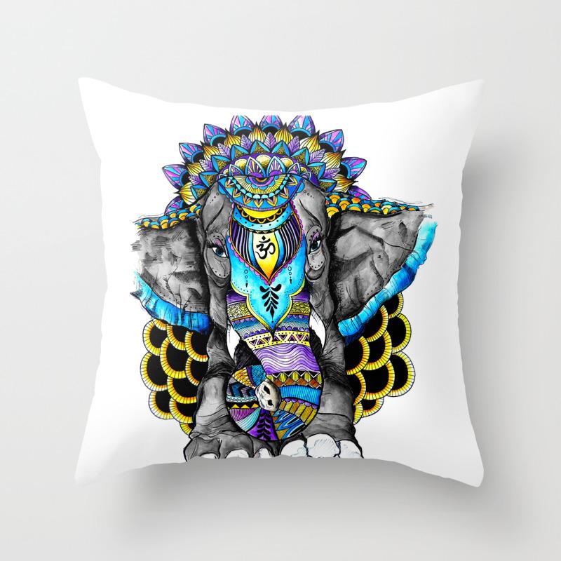 Positive Vibrations Throw Pillow by Heyemilydee PLW9031427