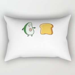 Avocado Toast Gift Rectangular Pillow