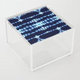 Tie-Dye Boho Knit Acrylic Box