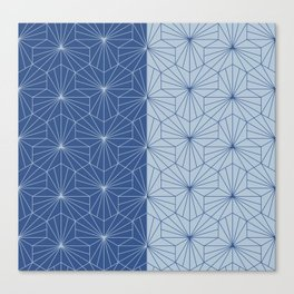 Japanese Classic blue  Canvas Print