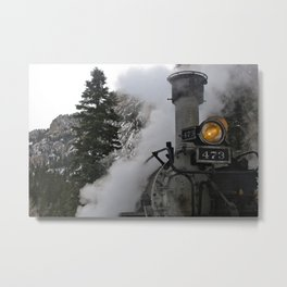 Durango / Silverton Narrow-Gage Railroad Metal Print