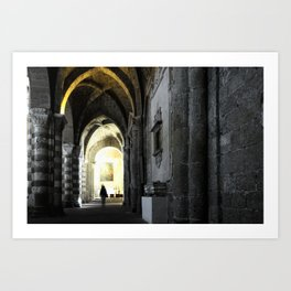Sovana Cathedral Art Print