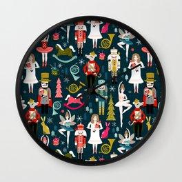 Nutcracker Ballet by Andrea Lauren  Wall Clock
