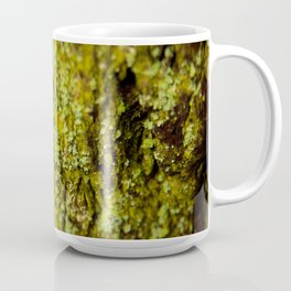 Lichen on Redwood Tree Coffee Mug