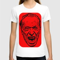 literature T-shirts featuring Outlaws of Literature (Charles Bukowski) by Silvio Ledbetter