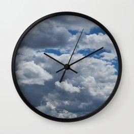 Overcast Wall Clock