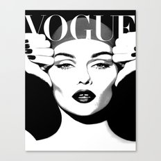 VOGUE PRINT Fashion Poster Digital Download Printable Art Retro Poster Modern Wall  Art Vintage Canvas Print
