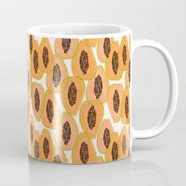Papaya Cravings #illustration #pattern Coffee Mug