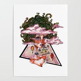 Con la testa tra le nuvole Poster