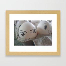 eggs! Framed Art Print