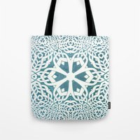 viking Tote Bags featuring Viking by Truly Juel