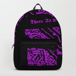 There Is Something In The Air Celtic Tribal Design  Backpack
