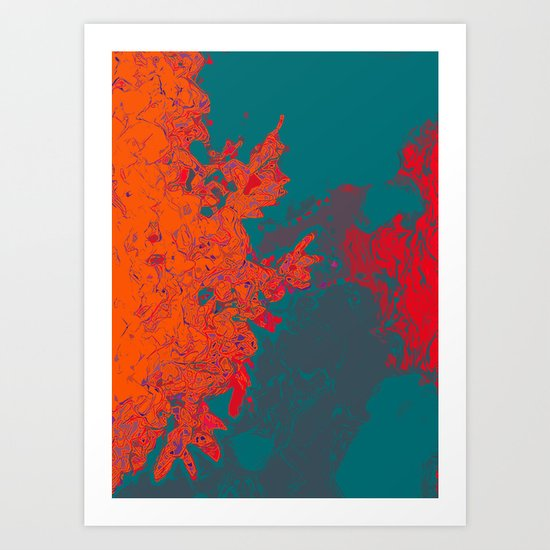 The Illusion of the Elemental  Art Print